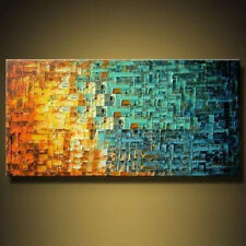 Modern Abstract Hand-painted Art HUGE Oil Painting Wall Decor canvas(No Frame)