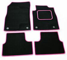 Perfect Fit Nero Carpet Tappetini Auto per Hyundai Pony x2 GSI-Pelle Rosa Taglia