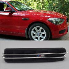"2 x ""M"" Car Body Side Vent Modified Shark Gills Decoration Sticker For BMW Black"