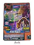 Animal Kaiser Original Evolution Evo Version Ver 6 Card (M153E: Alien Egg D)