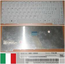 Qwerty Keyboard Italian ACER AS4720 4710 ZD1 NSK-H3V0E 9J.N5982.V0E Blanc