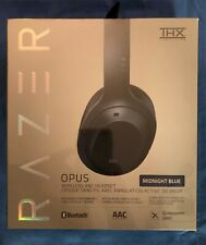 RAZER OPUS MIDNIGHT BLUE WIRELESS ACTIVE NOISE CANCELLING HEADSET THX CERTIFIED
