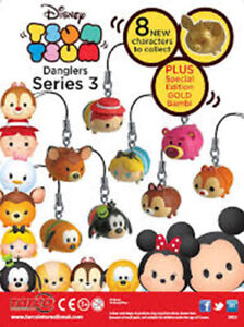 Disney Tsum Tsum Part 3 Figures, Keychains, Charms, Danglers Party Bag Fillers