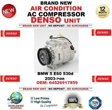 DENSO AIR CONDITION AC COMPRESSOR for BMW 5 E60 530d 2003->on OEM: 64526917859