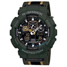 Brand New Casio G-Shock GA-100MC-3 Shock Resistant Watch