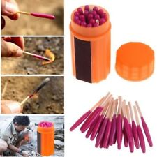 Emergency Kit Gear Windproof Portable Matches Fit Camping Hiking Hunting