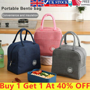Lunch Bag Insulated Thermal Cool Food Storage Bag Box Carry Tote For Adults Kids