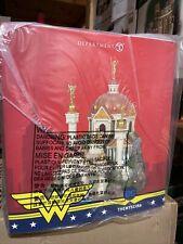 Department 56 Dc Comics Village Themyscira Building Wonder Woman 6005632. New!