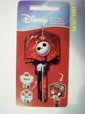 Nightmare Before Christmas Jack Skellington Sally House Key Kwikset Kw1 Kw11