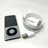 Apple iPod Nano 5th Generation Silver 8GB A1320 MC027LL/A MP3 Player Camera