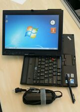 Lenovo Thinkpad X201 Tablet Core i7 250GB 4GB RAM Touchscreen windows 7 Pro