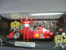 Mattel Hot Wheels Ferrari F2001 Michael Schumacher rosso 1:18