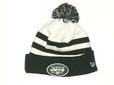 CHRIS PANTALE SIDELINE WORN & SIGNED OFFICIAL NEW YORK JETS NEW ERA BEANIE HAT