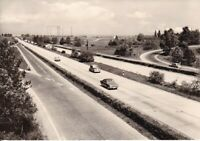 uralte AK, Hermsdorfer Kreuz Kr. Stadtroda Autobahn Richtung Berlin 1971 //21