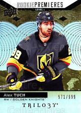 2017-18 UD Trilogy #57 Alex Tuch