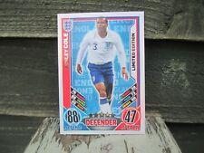 Match Attax euro 2012 Ashley Cole Inglaterra Edición Limitada Como Nuevo