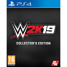 Wwe 2k19 Edición coleccionista PS4