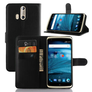 For ZTE AXON PRO Flip Leather Wallet Case/Cover/Card Holder/kirkstand/Pouch