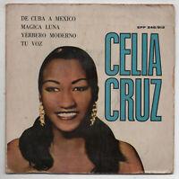 CELIA CRUZ - Yerbero Moderno EP SONORA MATANCERA BOLERO GUARACHA LATIN MAMBO