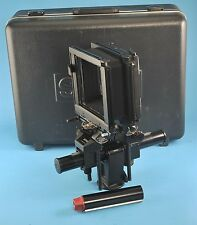 Sinar F1 Black 4x5 Large Format Camera with Sinar Case Exc NR