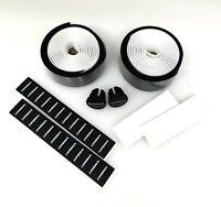 Velo VLT-001 Eva Road Bicycle Handlebar Wrap Tape Transitional Black/White NEW