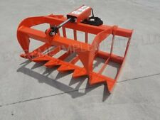 """2019 HD 48""""  Root Grapple--compact tractor/universal hook up"""