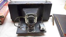 STEAMPUNK Ansco No 3A Folding Buster Brown Camera Model A * antique wood bellows