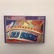 New 300 Piece Puzzlebug Puzzle Cold Drinks Refreshment Sign