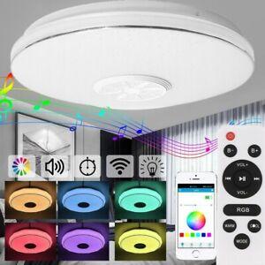 LED Deckenleuchte RGB Sternenhimmel Deckenlampe Dimmbar 36W Lampe Wohnzimmer