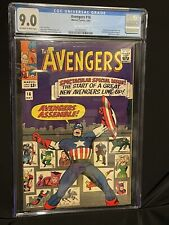 AVENGERS #16 Marvel 1965 CGC 9.0 Hawkeye Scarlet Witch Quicksilver Join Avengers