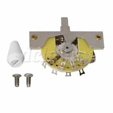 Chrome 5-way Lever Selector Switch Replacement Pat for Electric Guitar