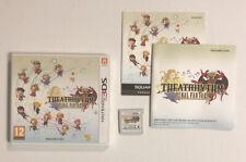 Theatrhythm Final Fantasy en caja con instrucciones Nintendo 3DS Pal probado