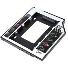 """2.5"""" SATA Second SSD HDD Hard Drive Caddy For 12.7mm CD/DVD-ROM Optical Bay New"""
