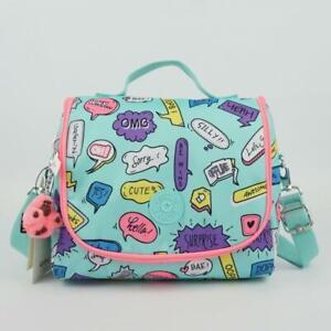 KIPLING KICHIROU Insulated Lunch Bag Talking Bubbles