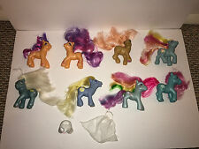 My Little Pony G3 Lot Blue and Orange Ponies Scootaloo