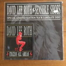 """David Lee Roth - Sensible Shoes 7"""" Square Shaped Picture Disc"""