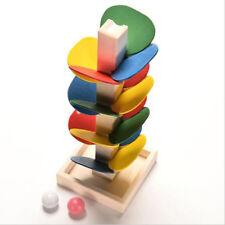 Hot Sale Baby Educational Blocks Wooden Tree Marble Ball Run Intelligence Toys