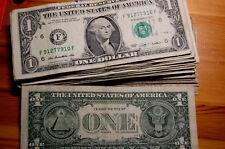 1 US Dollar aus der Urlaubskasse übrig Gute gebrauchte Erhaltung