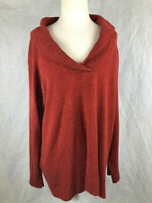Autograph L Ladies red acrylic cowl neck jumper