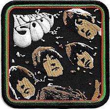Official Merch Woven Iron-on PATCH John Lennon THE BEATLES Rubber Soul Album