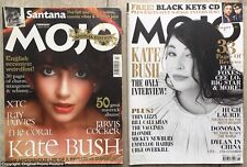 KATE BUSH - set of 2 vintage MOJO music magazines - interview (promo lp poster)