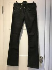 AG Adriano Goldschmied Stretch Corduroy Dark Blue Decade Vintage Boot Jeans 25