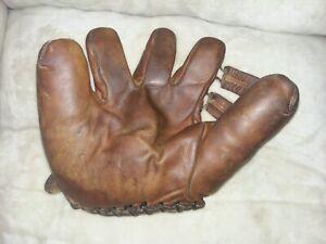 Vintage Ted Williams Split Finger Baseball Glove