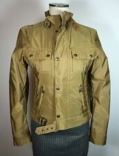 Authentic Belstaff Gangster Blouson Motorcycle Belflex Jacket EU 42 Made Italy