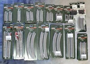 KATO Unitrack - NEW - N Scale - Bulk - Over 20 Packs - Value over $400