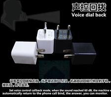 US HD Spy Camera USB Wall Charger Mini AC Adapter Nanny Camcorder Ear Bug