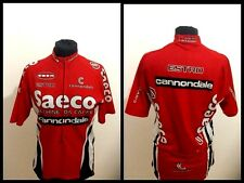 CANNONDALE SAECO CICLISMO ESTRO MAGLIA RADTRIKOT CYCLING SHIRT JERSEY VINTAGE