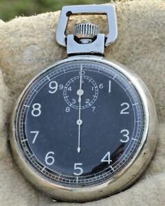 Glaze Chronomètre Elgin Iwcc Tour 10 Secondes Militaire Seconde Guerre Mondiale