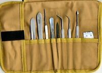 COMPLETE Dissecting Kit, Dissecting Tools in a Professional Canvas Pouch