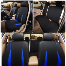 5-Seats Car Seat Covers Head Rest Covers Pet Protect Mat Breathable Washable